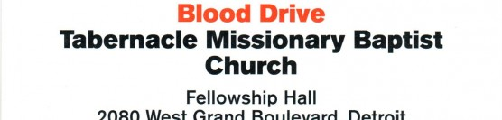 Red Cross Blood Drive 6-24-2016 2:00pm