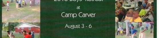 Boys' Retreat 2016