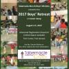 2017 Boys Retreat August 2-5, 2017