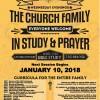 Church in Fellowship, Study & Prayer