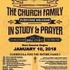 Church in Fellowship, Study & Prayer