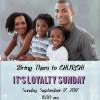 Loyalty Sunday 2017