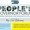 People's Governor Forum