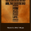 End of Lent Worship with Hartford Memorial Baptist Church