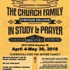 Church in Fellowship, Study, and Prayer