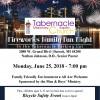 Family Fireworks Fellowship