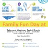 Family Fun Day at Tabernacle