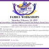 Family Spirituality Month Workshops; Plus Special Lunch & Learn Panel Discussion