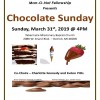 Marr-O-Not Ministry presents Chocolate Sunday