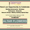 Opportunity to Celebrate
