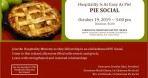 Hospitality Ministry hosts Pie Fellowship