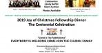 Joy of Christmas Fellowship Dinner