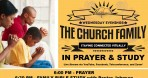 Stay Connected: Wednesdays The Church Family in Prayer & Study – Virtual on Wednesdays at 6:00pm