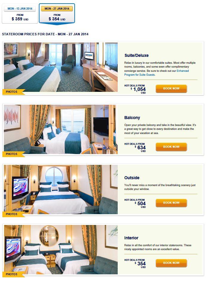 Cruise Prices Liberty ot Seas