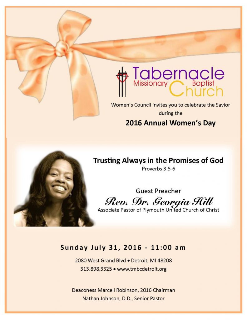 2016 Women's Day Flyer2