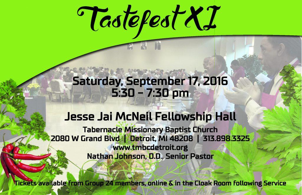 Tastefest XI - 2016